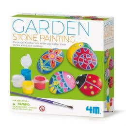 4M Little Craft Garden Stone Painting Kit