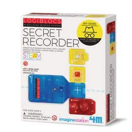 4M Logiblocs Secret Recorder Kit