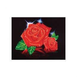 Diamond Dotz Red Rose Sparkle Kit