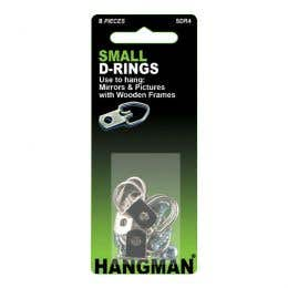 Hangman D-Ring Small Pack 4