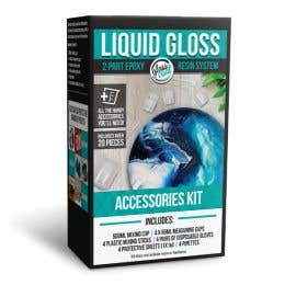 Glass Coat Liquid Gloss Accessories Kit