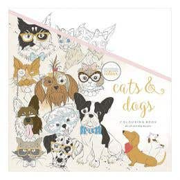 Kaisercraft Cats & Dogs Colouring Book