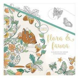 Kaisercraft Flora & Fauna Colouring Book