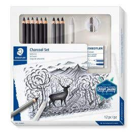 STAEDTLER Design Journey Mixed Charcoal Set 12