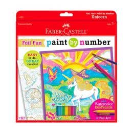 Faber-Castell Paint By Numbers (Unicorn)