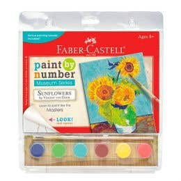 Faber-Castell Paint By Numbers (Sunflower)