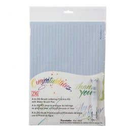 Kuretake A to Zig Brush Lettering Practise Kit