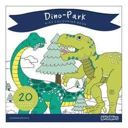 Kaisercraft Dino-Park Kids Colouring Book