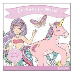 Kaisercraft Enchanted World Kids Colouring Book