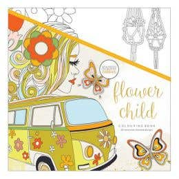 Kaisercraft Flower Child Colouring Book