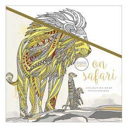Kaisercraft On Safari Colouring Book