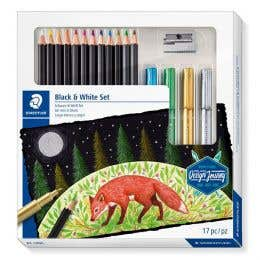 STAEDTLER Design Journey Black & White Sketching Set