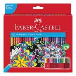 Faber-Castell Classic Colour Pencil Castle Set 60
