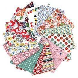 Leutnegger Betty's Pantry Fat Quarter Cotton Fabric Bundle