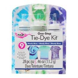 Tulip One Step 3 Colour Tie Dye Moody Blues Kit