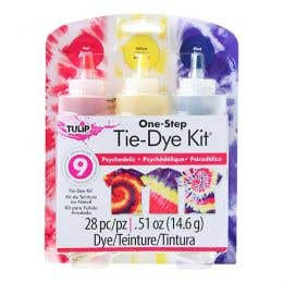 Tulip One Step 3 Colour Tie-Dye Psychedelic Kit
