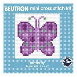 Beutron Butterfly Cross Stitch Kit
