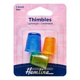 Hemline Thimble Set