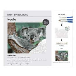 Kaisercraft Paint By Numbers Koala Canvas