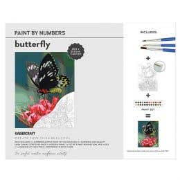 Kaisercraft Paint By Numbers Butterfly Canvas