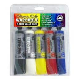 Chroma Kidz Washable Assorted Paint Set
