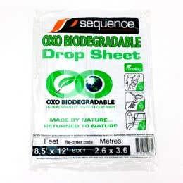 Sequence Pro Bio-Degradable Plastic Drop Sheet