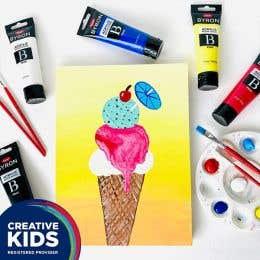Creative Kids Tropical Ice Cream Kit
