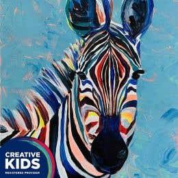 Creative Kids Zebra Painting Kit