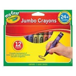 Crayola My First Jumbo Crayons Pack 12