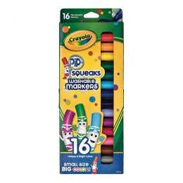 Crayola Pip-Squeak Washable Markers Pack 16