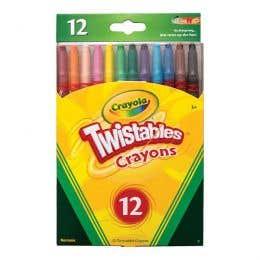 Crayola Twistable Crayons Pack 12