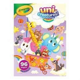 Crayola Uni Creatures Colouring Book