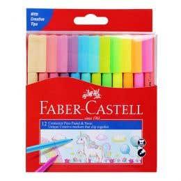 Faber-Castell Pastel & Neon Connector Pen Set