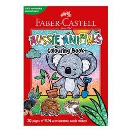 Faber-Castell Aussie Animals Colouring Book