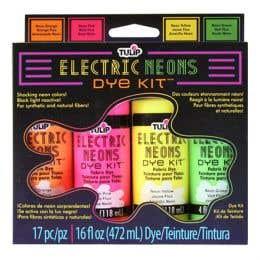 Tulip Electric Neons Fabric Dye Kit