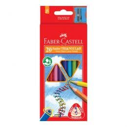 Faber-Castell Triangular Junior Pencil Set 20