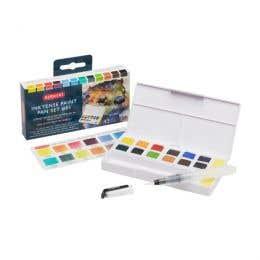 Derwent Inktense Paint Pan Sets