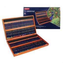 Derwent Inktense Pencils 72 Wooden Box
