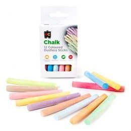 EC Coloured Chalk Pack