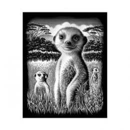 Reeves Silver Scraperfoil (Meerkat)