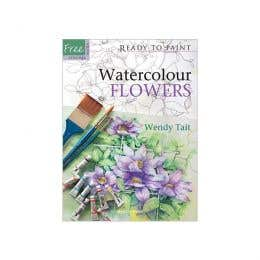 Ready To Paint: Watercolour Flowers Book