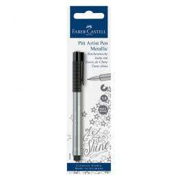 Faber-Castell Pitt Artist Metallic Silver Pen