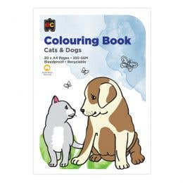 EC Colouring Book Cats & Dogs