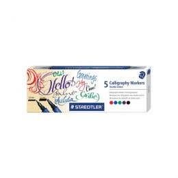 STAEDTLER Calligraphy Duo Tip Marker Set