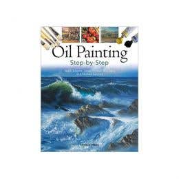 Oil Painting Step-By-Step Book