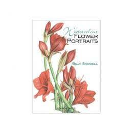Watercolour Flower Portraits Book