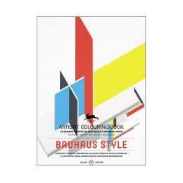 Pepin Artists' Bauhaus Style Colouring Book