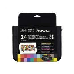Winsor & Newton Mixed Marker Set