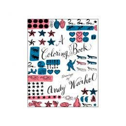 A Colouring Book Drawings By Andy Warhol