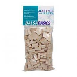 Balsa Wood Bricks Packs